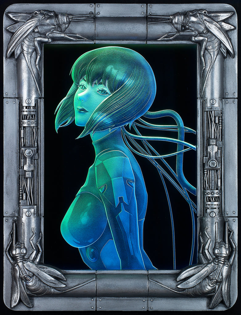 """Ghost in the Shell: SAC_2045"" Ultimate Etching glass"