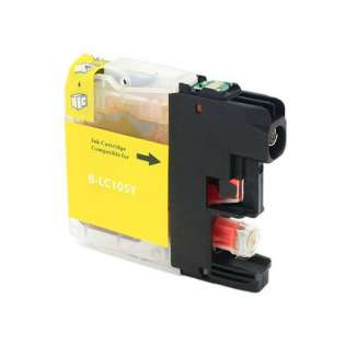 Compatible inkjet cartridge for Brother LC103Y / LC101Y - yellow, 600 pages