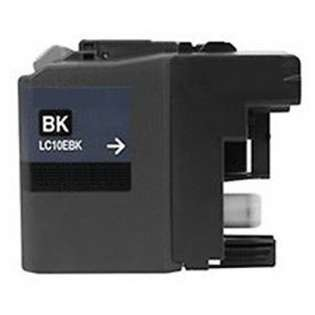 Compatible Super high capacity yield cartridge for Brother LC10EBK (Black)
