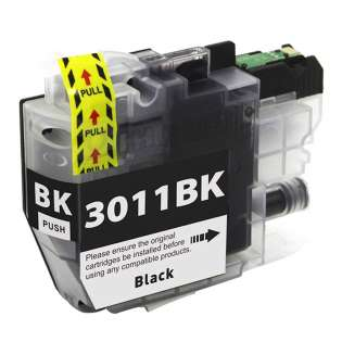 Compatible Elevated Ink brand inkjet cartridge for Brother LC3011BK - black