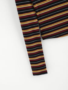 Colorful Striped Tee - VINT