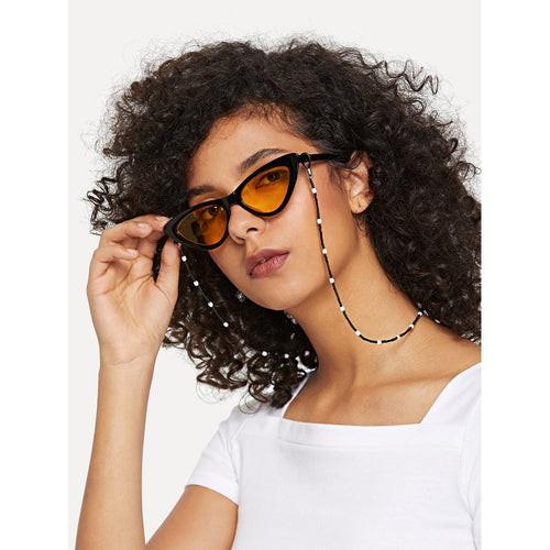 Beaded Sunglasses Chain - VINT