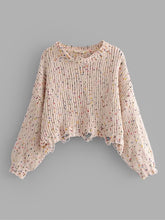 Frayed Crop Sweater - VINT