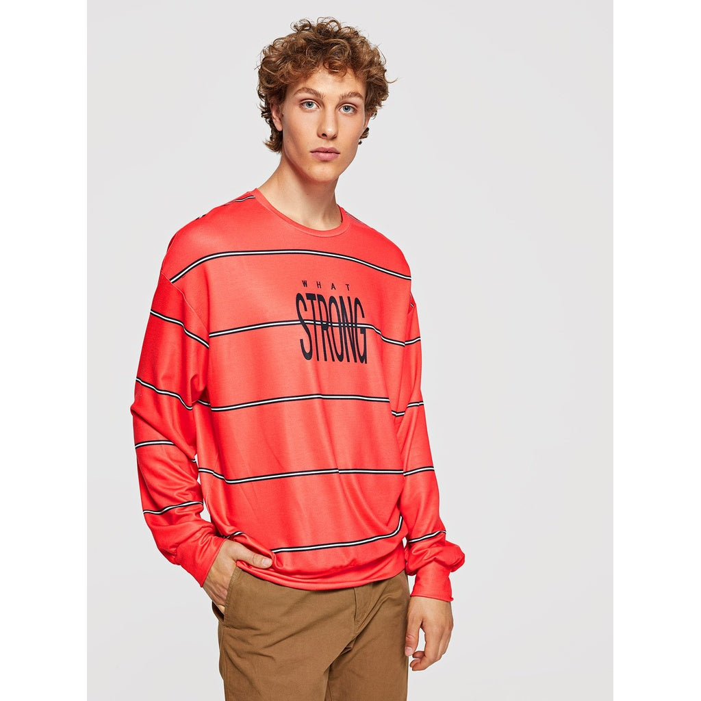 STRONG Striped Pullover - VINT