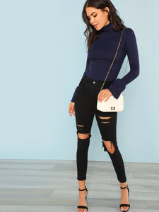 Bell Cuff Fitted Top - VINT