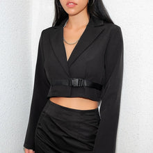 Buckle Cropped Blazer - VINT