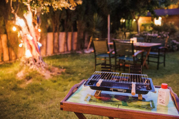 Barbeque seating