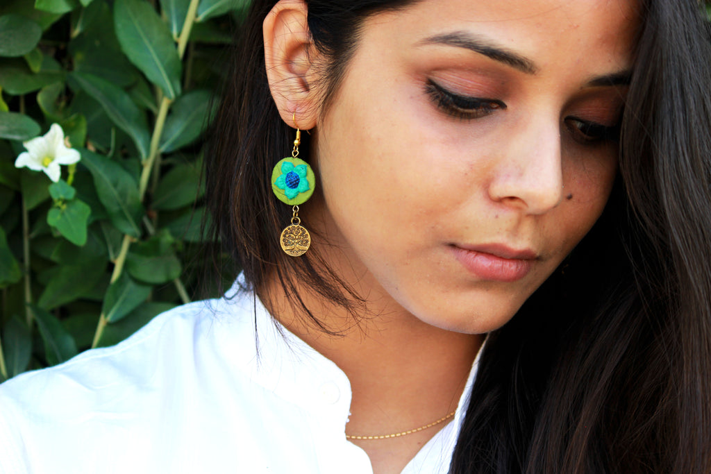 Adorable Terracotta Earring - Panigh Tradition in You Jewellery