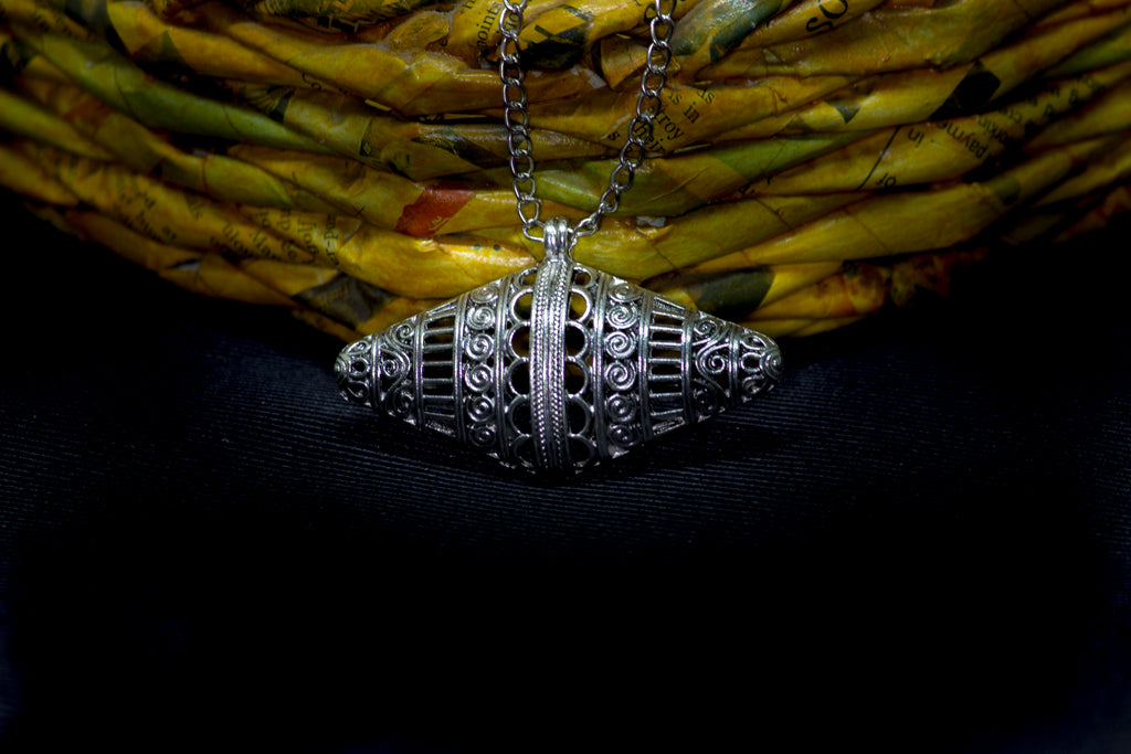 Beautiful German Silver Necklace - Panigh Tradition in You Jewellery