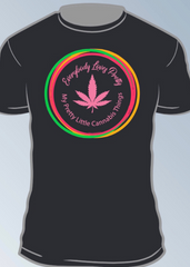 Black - MPLCT T-Shirt with Multi-colored Logo