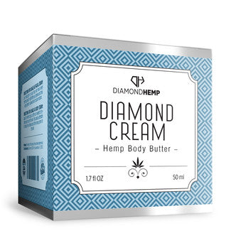 Hemp Body Butter (Diamond Cream)