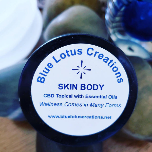 Skin Body Hemp CBD Topical 1 oz