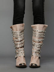 Studded Western Cowboy Boot