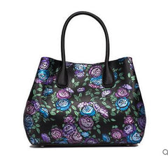 Painted Women's Boston Handbag