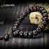 Tibetan Mala Prayer Beads Black Vintage