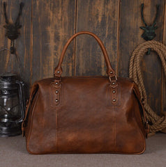 Genuine Leather Shoulder Bag Vintage Leather