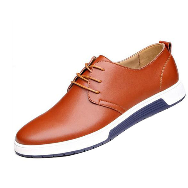 Men Casual Lace Up Oxford Loafers