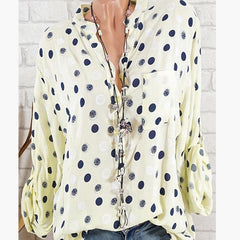 Polka Dot Summer Blouse