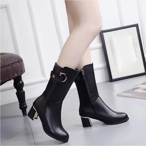 Women High Heel Ankle Boot