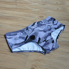 Load image into Gallery viewer, Rio Trunks Brazilian Fit Sungas Camouflage Gray