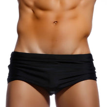Load image into Gallery viewer, Rio Trunks Brazilian Fit Sungas Black