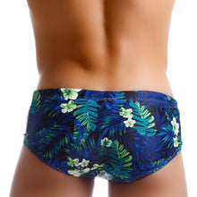 Load image into Gallery viewer, Rio Trunks Brazilian Fit Sungas Tropical Blue