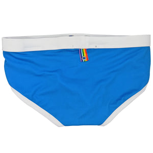 Rainbow Summer Swim Trunks Briefs 'Happy Pride'