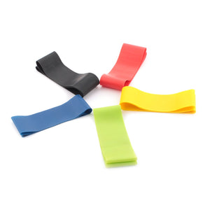 Resistance Band Loop for Home Gym in different strengths - Workout Elastic Band