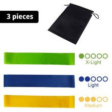 Load image into Gallery viewer, Resistance Band Loop for Home Gym in different strengths - Workout Elastic Band