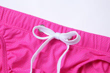 Load image into Gallery viewer, Bora Bora Swim Briefs with visible Drawstring Speedo Pink