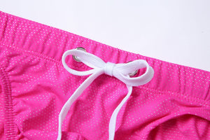Bora Bora Swim Briefs with visible Drawstring Speedo Pink