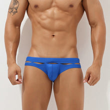 Load image into Gallery viewer, Bali Cut-Out Swim Briefs Blue