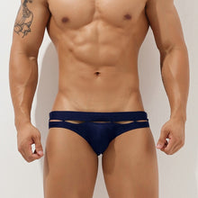 Load image into Gallery viewer, Bali Cut-Out Swim Briefs Navy