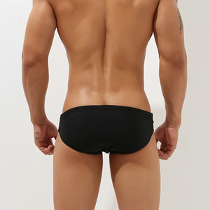 Bali Cut-Out Swim Briefs Black