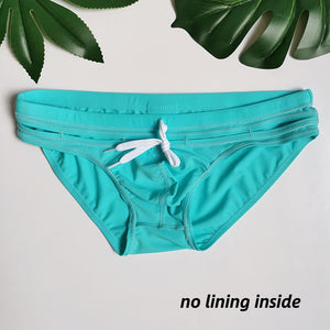 Bali Cut-Out Swim Briefs Turquoise