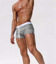 Load image into Gallery viewer, San Diego Fitted Swim Shorts light grey