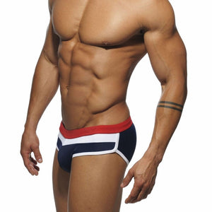Aruba Briefs Contrast Stripe Speedos dark blue