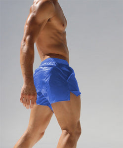 Ibiza transparent Swim Shorts sexy Swimwear blue