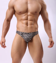 Load image into Gallery viewer, Rio String Tanga Thong Briefs Leopard