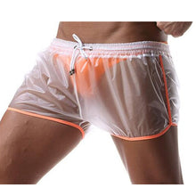 Load image into Gallery viewer, Berlin Transparent Waterproof Beach Shorts orange