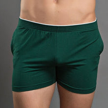 Load image into Gallery viewer, Barcelona Boxers sexy Loungewear dark green