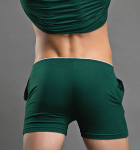Barcelona Boxers sexy Loungewear dark green