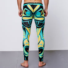 Load image into Gallery viewer, Tiki Tribal Gym  Leggings for Men