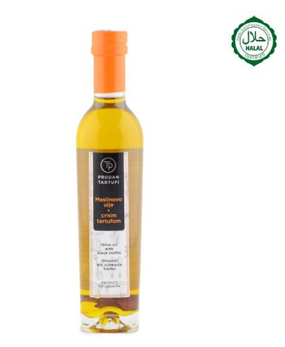 Black Truffle extra virgin olive oil infused with truffles 250ml