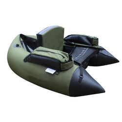 Professional Inflatable Fishing Catamaran PVC Rubber Boat for Fishing Kayak 1 Person Inflatable Fishing Chair Single Rowing Boat - fishingnvarieties.store