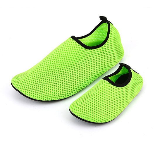 Water Sports Mesh Sandals for Woman Men Flat Wade Shoes Beach Swimming Shoes Summer Breathable Swim Slip Surf Shoes M-3XL - fishingnvarieties.store