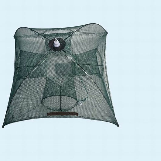 Folded Portable Hexagon Mesh Trap - fishingnvarieties.store