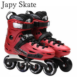 Japy Skate Flying Eagle F6 Inline Skates With 8 Original Hyper Wheels Falcon Roller Skating Shoes Slalom Free Skating Patines - fishingnvarieties.store