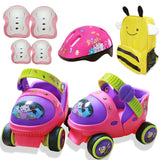 Entry Level Baby Roller Skate With Safety Off Button Resistance Material And Free Sliding - fishingnvarieties.store