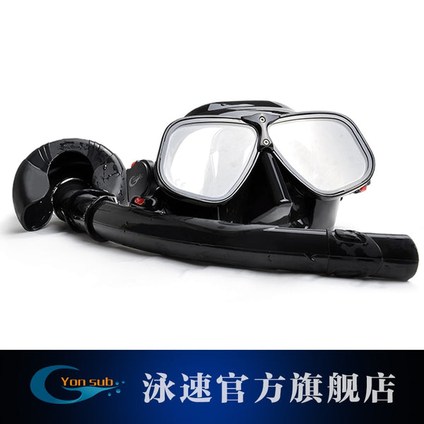 Magnesium And Aluminum Alloys Silicone Diving Mask Set Snorkeling Underwater Hunting Professional Scuba Diving Equipment